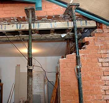 استفاده از جک سقفی پشتیبان